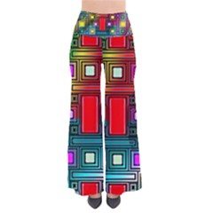 Art Rectangles Abstract Modern Art Pants