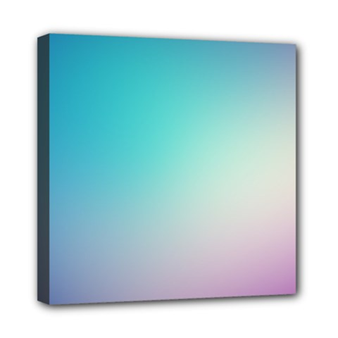 Background Blurry Template Pattern Mini Canvas 8  x 8