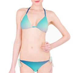 Background Blurry Template Pattern Bikini Set