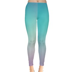 Background Blurry Template Pattern Leggings