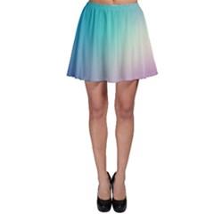 Background Blurry Template Pattern Skater Skirt