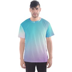 Background Blurry Template Pattern Men s Sport Mesh Tee