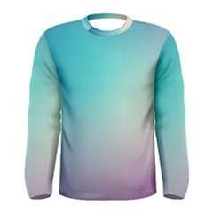 Background Blurry Template Pattern Men s Long Sleeve Tee