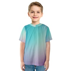 Background Blurry Template Pattern Kids  Sport Mesh Tee