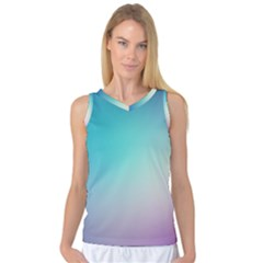 Background Blurry Template Pattern Women s Basketball Tank Top