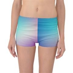 Background Blurry Template Pattern Boyleg Bikini Bottoms