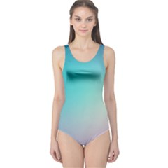 Background Blurry Template Pattern One Piece Swimsuit