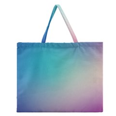 Background Blurry Template Pattern Zipper Large Tote Bag