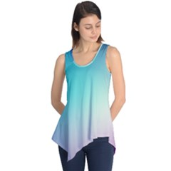 Background Blurry Template Pattern Sleeveless Tunic