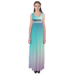 Background Blurry Template Pattern Empire Waist Maxi Dress