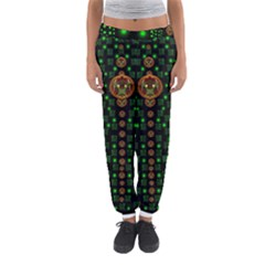 Tulips In The Night Of Stars Women s Jogger Sweatpants