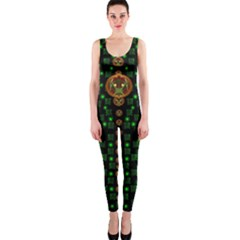 Tulips In The Night Of Stars OnePiece Catsuit