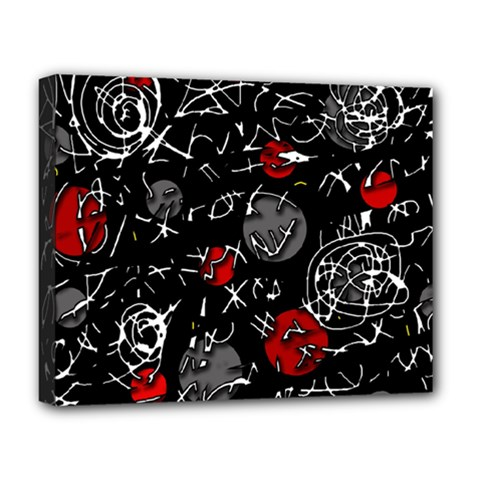 Red mind Deluxe Canvas 20  x 16