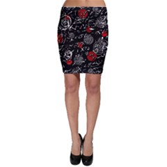 Red mind Bodycon Skirt