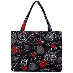 Red mind Mini Tote Bag