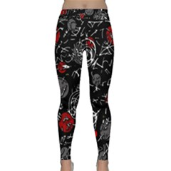 Red mind Classic Yoga Leggings