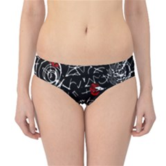 Red mind Hipster Bikini Bottoms