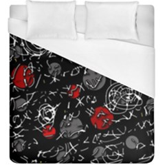 Red mind Duvet Cover (King Size)