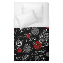Red mind Duvet Cover (Single Size)
