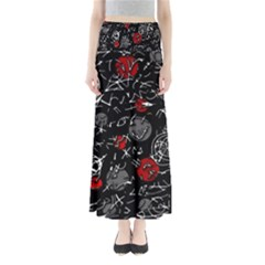 Red mind Maxi Skirts