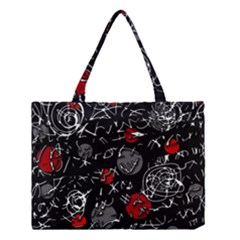 Red mind Medium Tote Bag