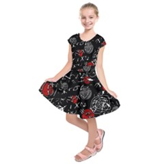Red mind Kids  Short Sleeve Dress