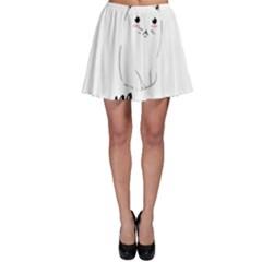 Cute Kitty Skater Skirt