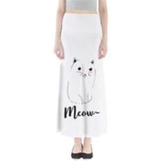 Cute Kitty Maxi Skirts