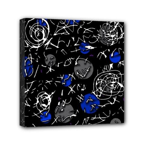 Blue mind Mini Canvas 6  x 6