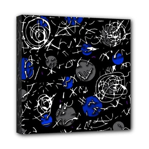 Blue mind Mini Canvas 8  x 8