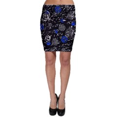 Blue mind Bodycon Skirt