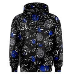 Blue mind Men s Zipper Hoodie