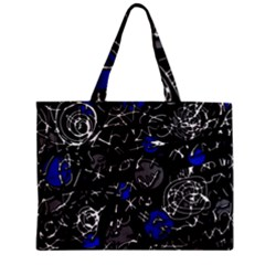 Blue mind Zipper Mini Tote Bag
