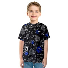 Blue mind Kids  Sport Mesh Tee