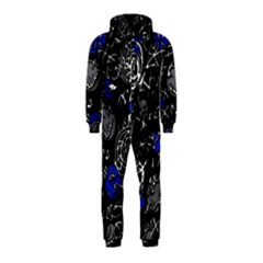 Blue mind Hooded Jumpsuit (Kids)