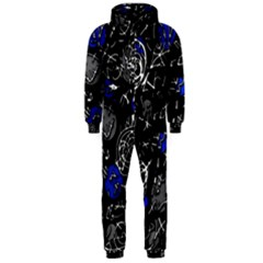 Blue mind Hooded Jumpsuit (Men)