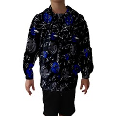 Blue mind Hooded Wind Breaker (Kids)