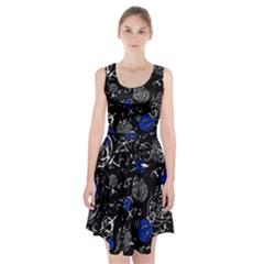 Blue mind Racerback Midi Dress