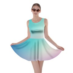 Background Blurry Template Pattern Skater Dress