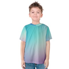 Background Blurry Template Pattern Kids  Cotton Tee