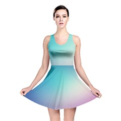 Background Blurry Template Pattern Reversible Skater Dress