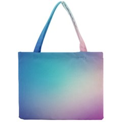 Background Blurry Template Pattern Mini Tote Bag