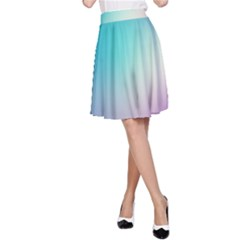 Background Blurry Template Pattern A-Line Skirt