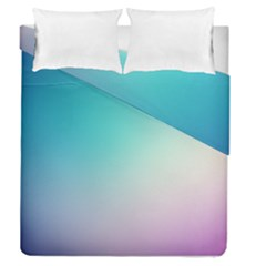 Background Blurry Template Pattern Duvet Cover Double Side (Queen Size)