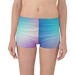 Background Blurry Template Pattern Reversible Bikini Bottoms