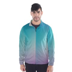 Background Blurry Template Pattern Wind Breaker (Men)