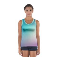 Background Blurry Template Pattern Women s Sport Tank Top