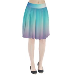 Background Blurry Template Pattern Pleated Skirt