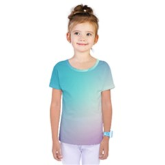 Background Blurry Template Pattern Kids  One Piece Tee