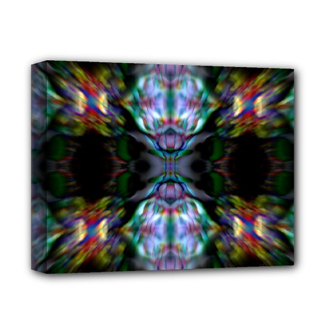 The Butterfly Effect  by WBK: Deluxe Canvas 14  x 11  (Framed)